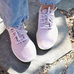 Allbirds Rare Pink Tuke Dusk Wool Runners Size 9